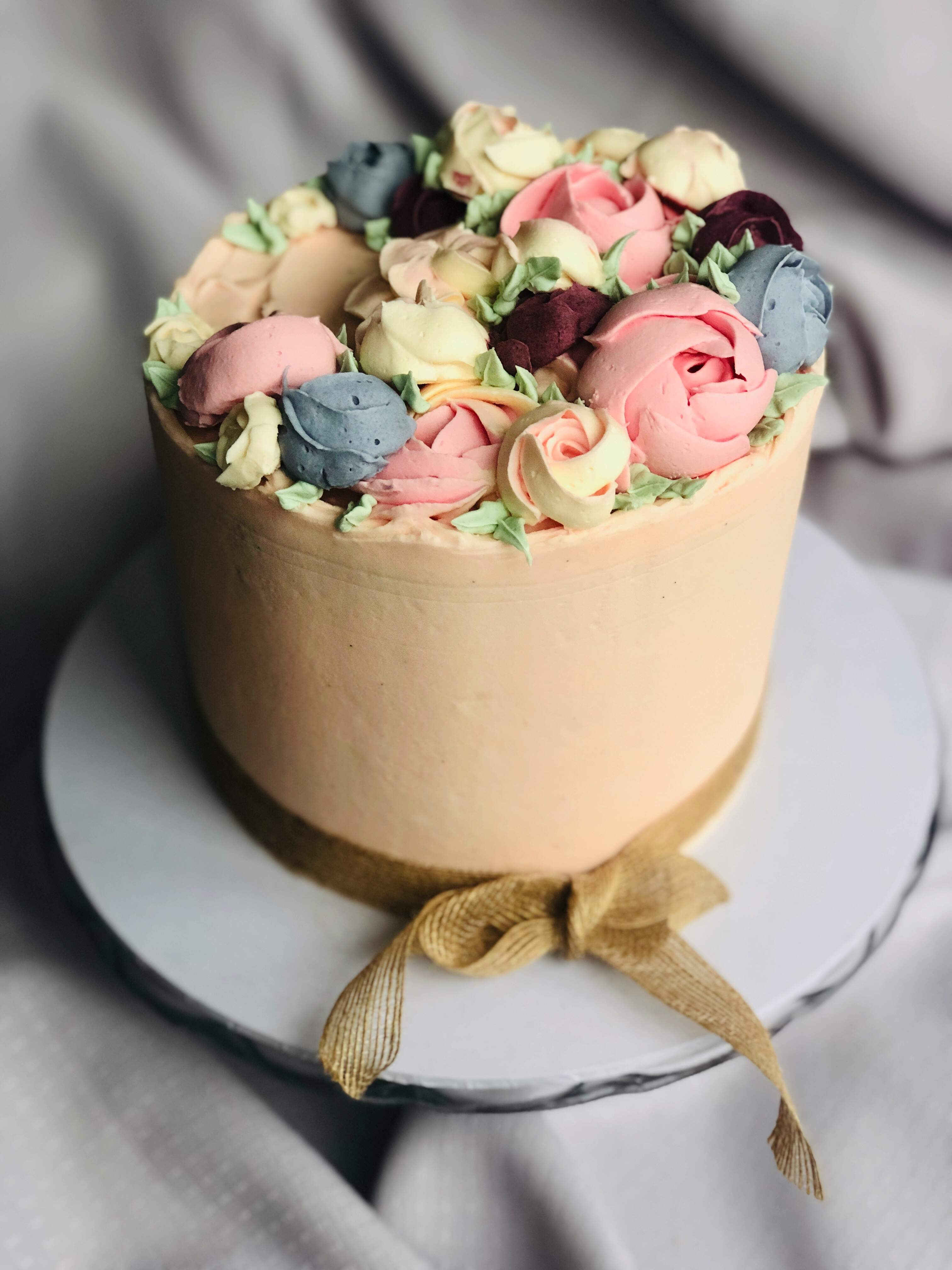 Buttercream Bloom Cake