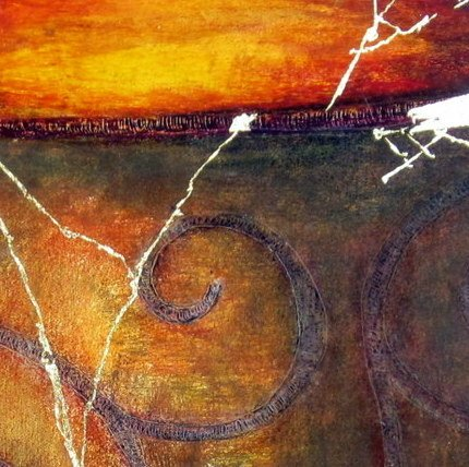 Awen - the Cauldron of Ceridwen by Mary Wallace detail 2JPG