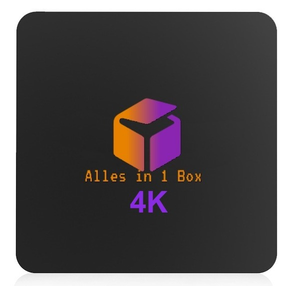 4K Alles in 1 Box incl.12 maanden Live Tv