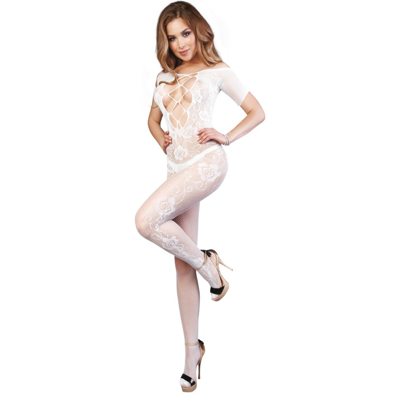LE FRIVOLE - 04502 BODYSTOCKING BLANCO S/L