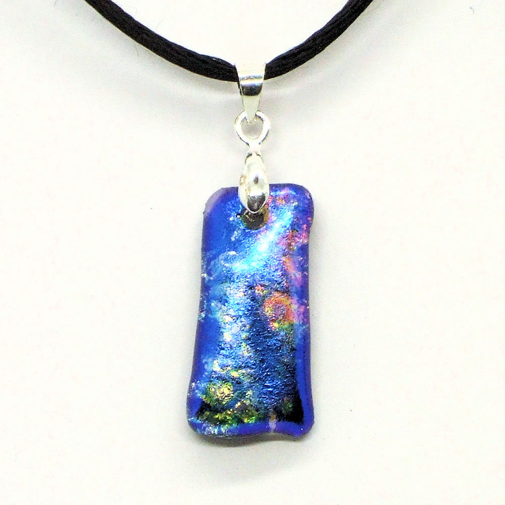 Fused-glass jewellery - pendant - 130
