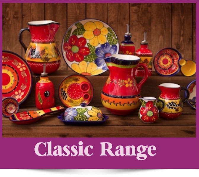 The Classic Range of Spanish Ceramics from Brambles Deli