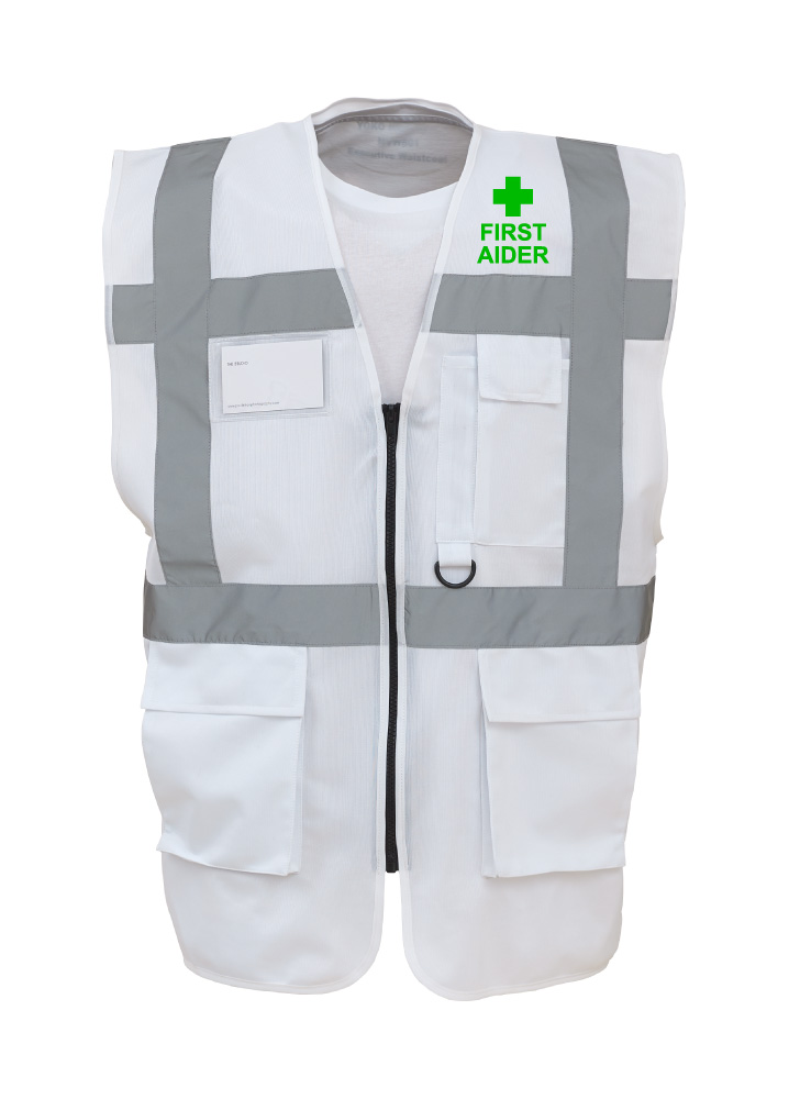 First Aider Executive Safety Vest