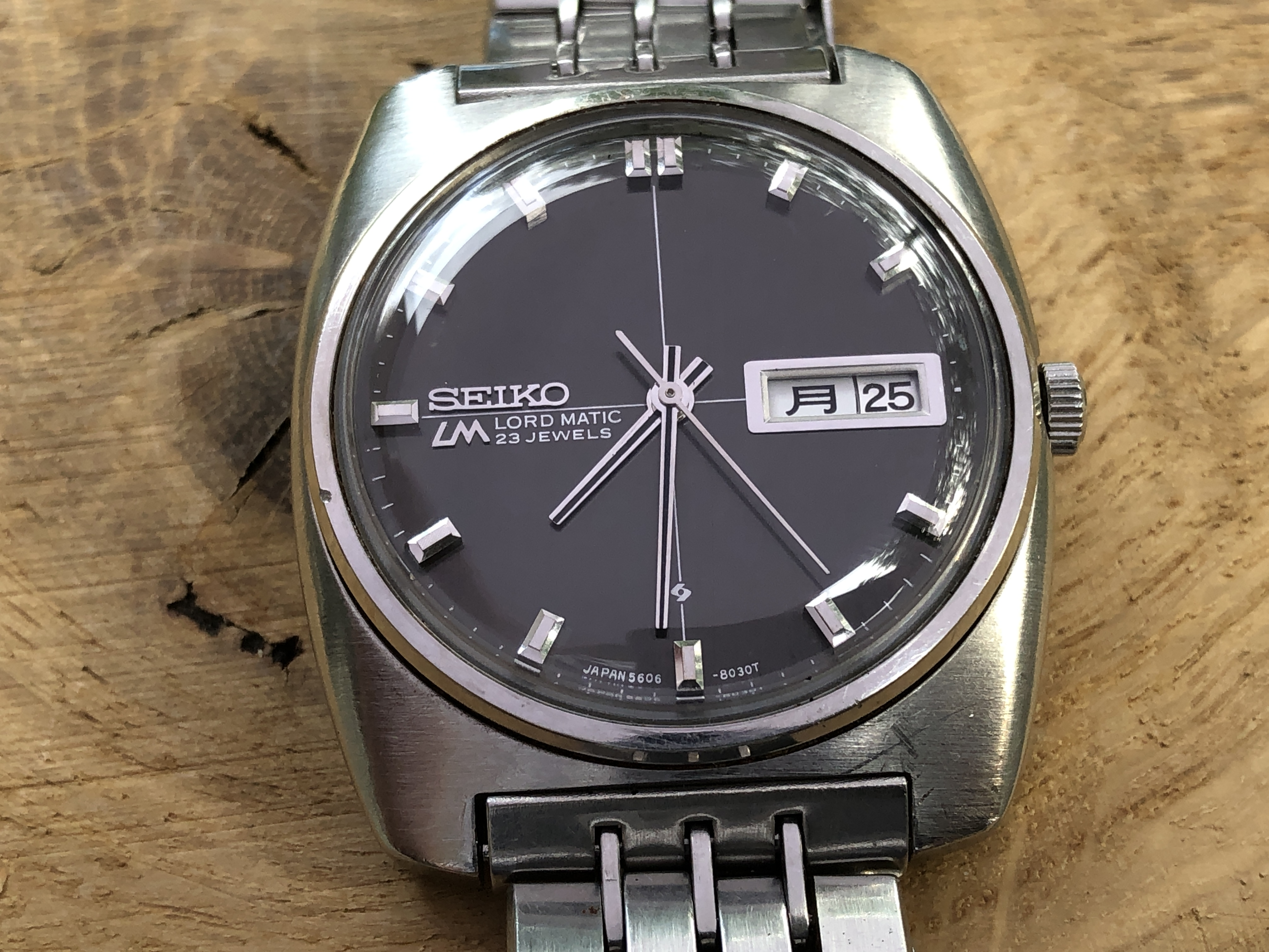 Seiko Lord-Matic 5606-8010 56LMW-302