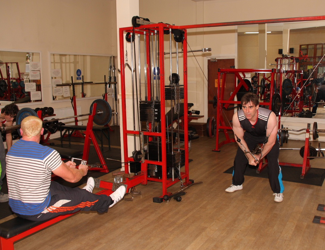 The gym at AA Fitness Studio Dumfries