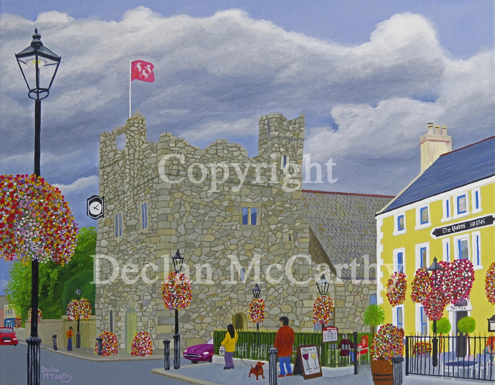 Dalkey Castle And The Queens