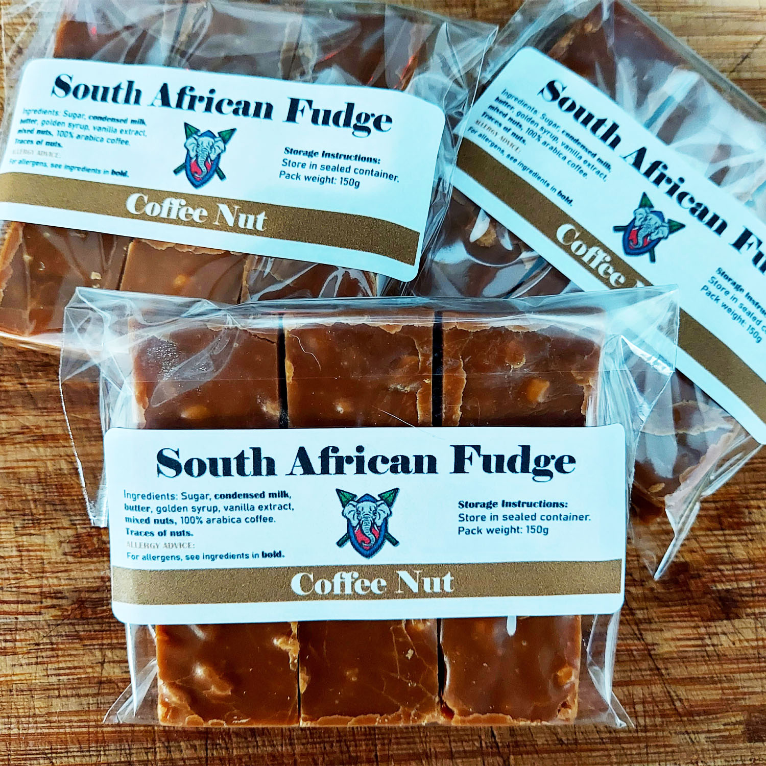 South African Fudge (Coffee Nut)