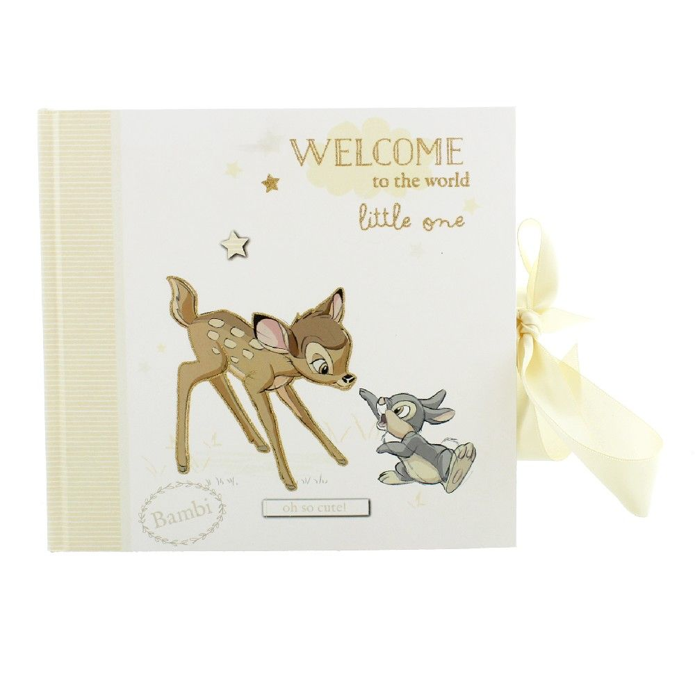 "Disney Bambi Photo Album 4"" x 6"""