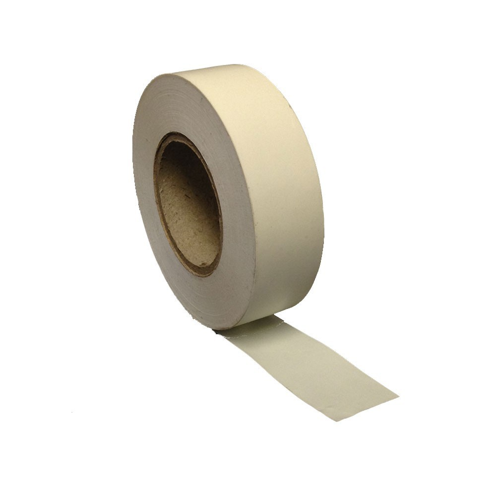 White PVC Tape 19mm