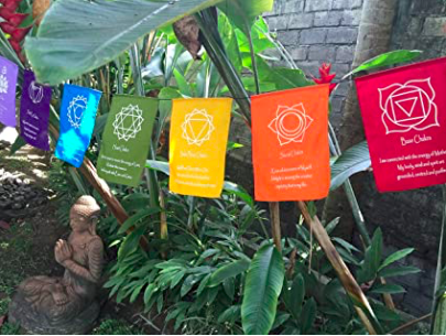 Chakra Prayer Flags