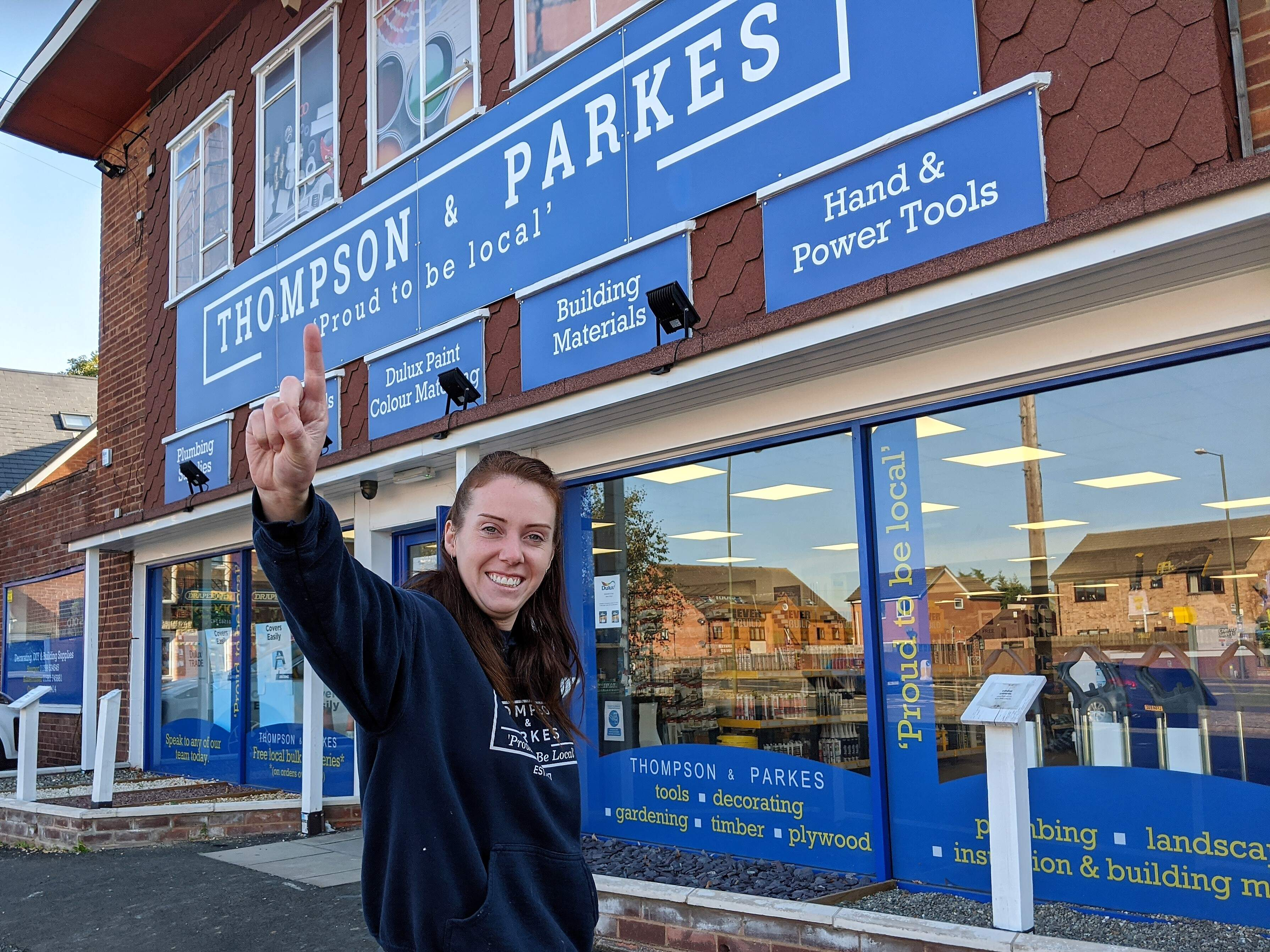 Thompson & Parkes Stourport Celebrate First Anniversary