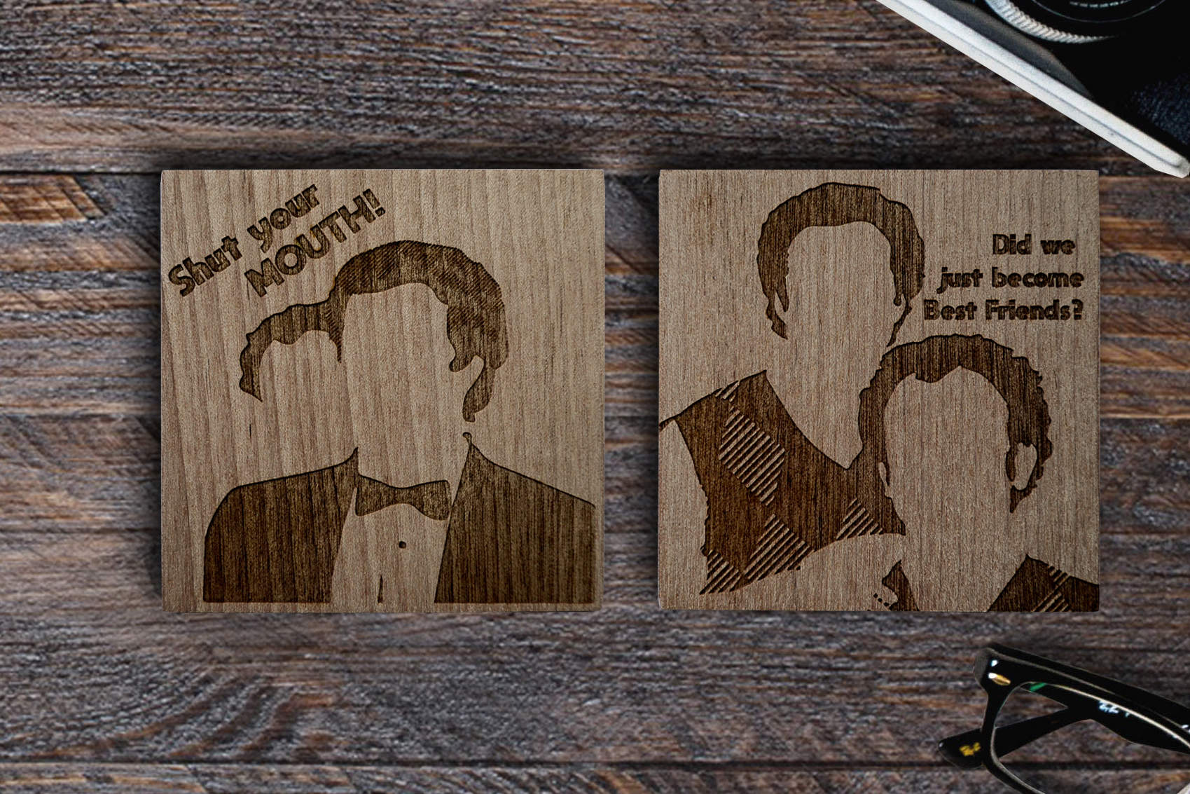 Step Brothers Coaster set!