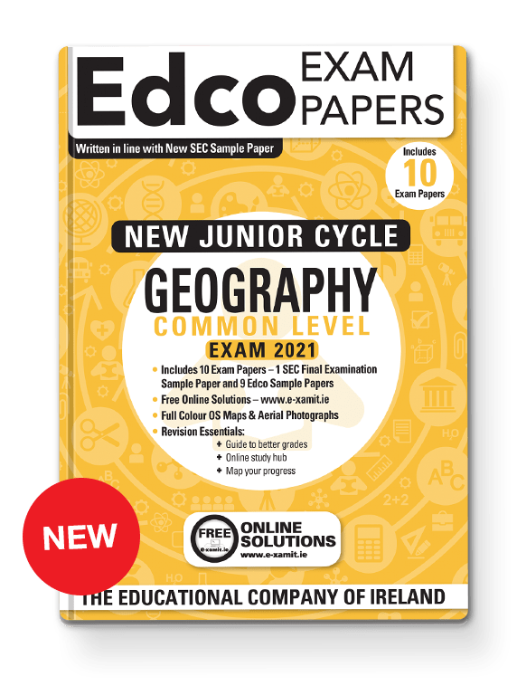 GEOGRAPHY JC EXAM PAPERS - COMMON LEVEL - EDCO
