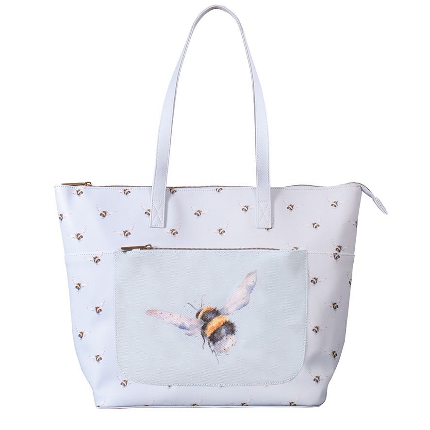 'Flight Of The Bumblebee' VEGAN everyday bag by Wrendale Designs SALE ITEM