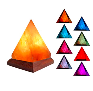 USB Pyramid Himalayan Salt Lamp