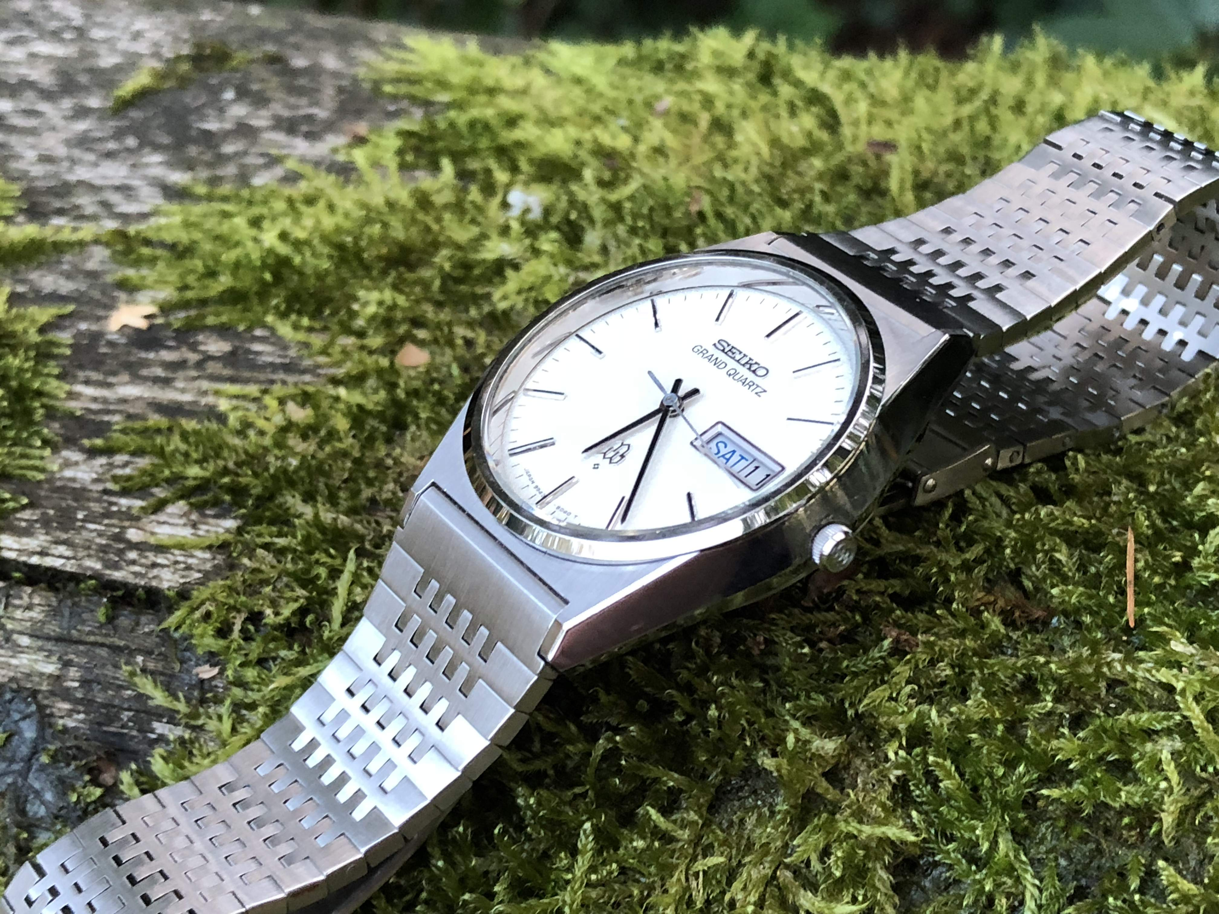 Seiko Grand Quartz 9843-8030 (Sold)