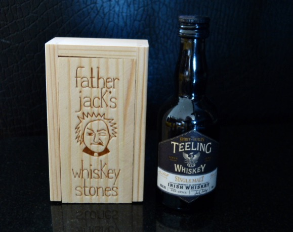 Father Jack Whiskey Stones and Teeling Whiskey Gift Set