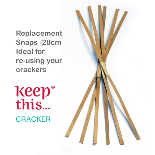 Replacement Cracker Snaps x6 or x12