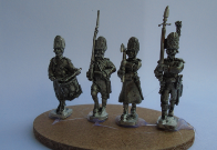 DUTCH 1792-4 INFANTRY GRENADIER UNIT