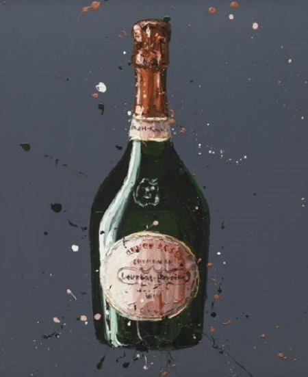 Laurent Perrier Rose Paul Oz Limited Edition Print