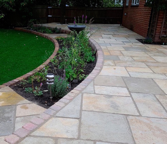 Patio builders Byfleet