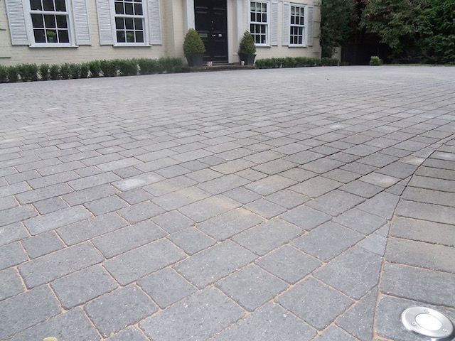 Good block paving companies West Byfleet
