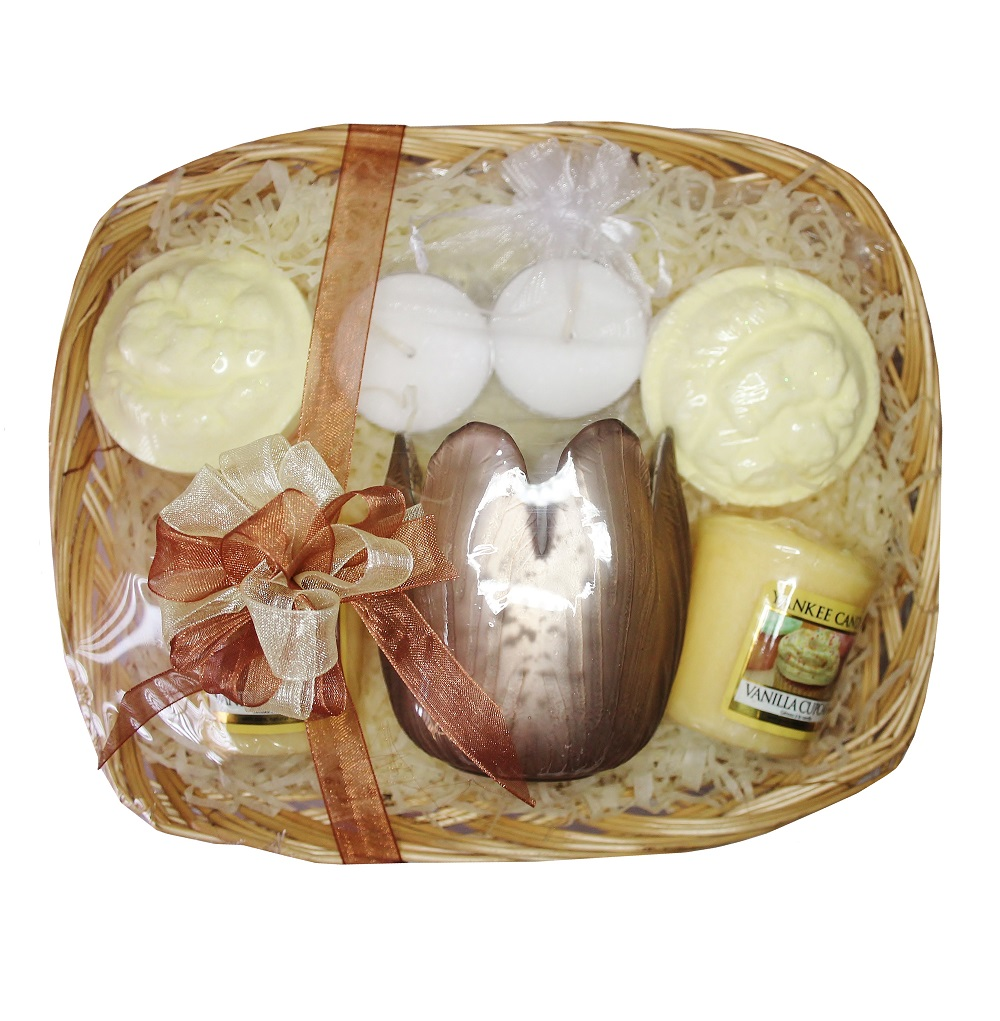 Time to Relax, Gift Basket - Brown