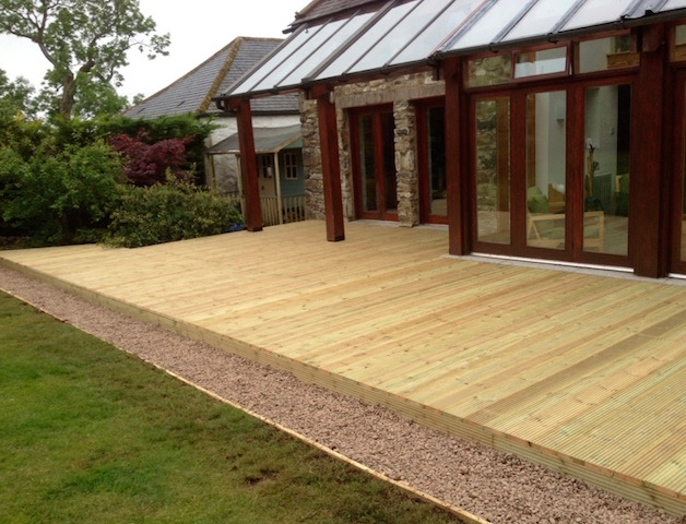 Decking installations Castle Douglas