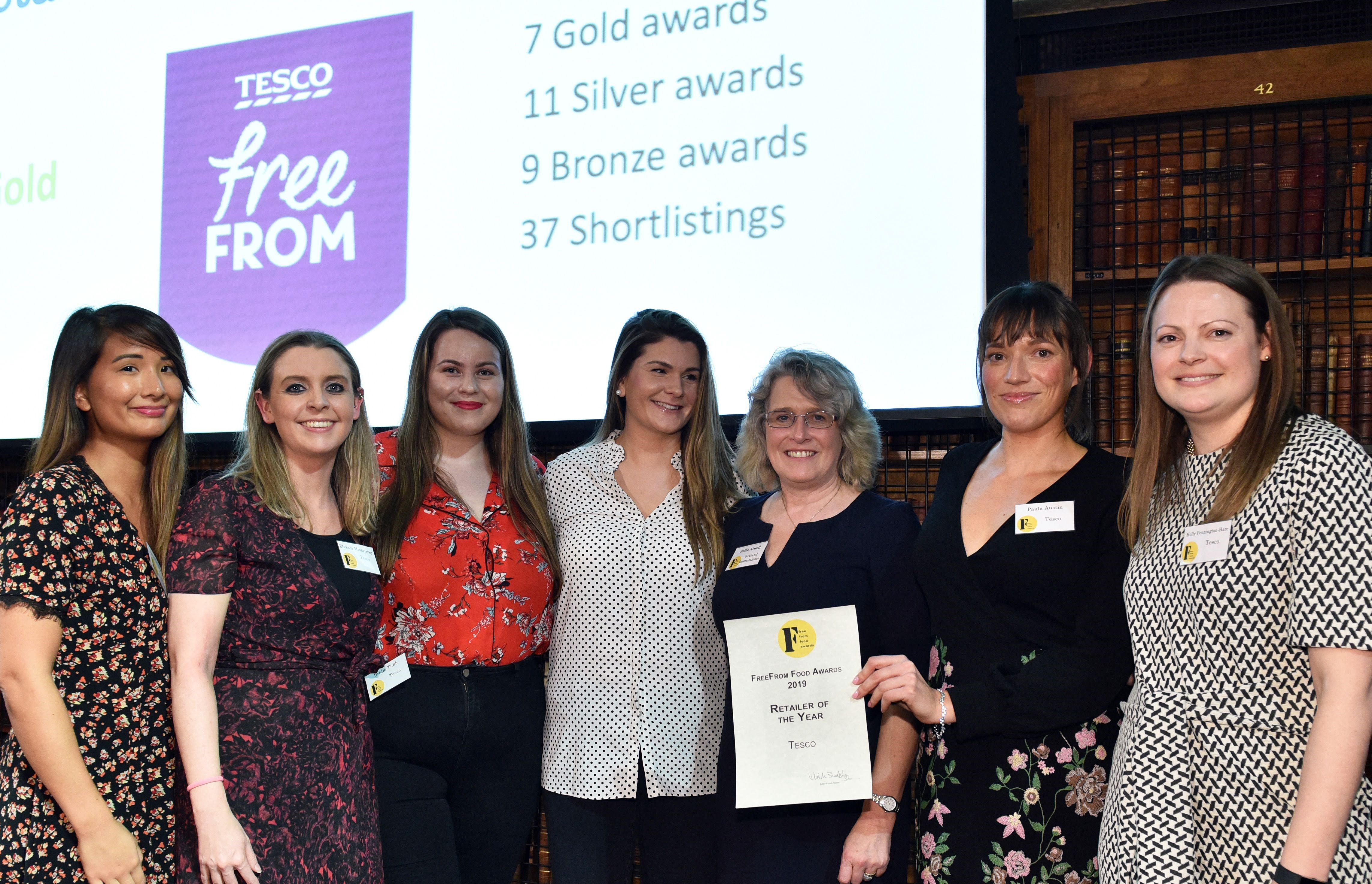 Tesco Takes FreeFrom Food Awards 2019 Retail Title
