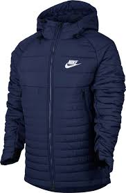 Nike NSW Padded Jacket  Binary Blue-White