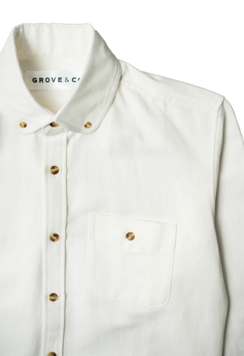 Button Down | Arlington White