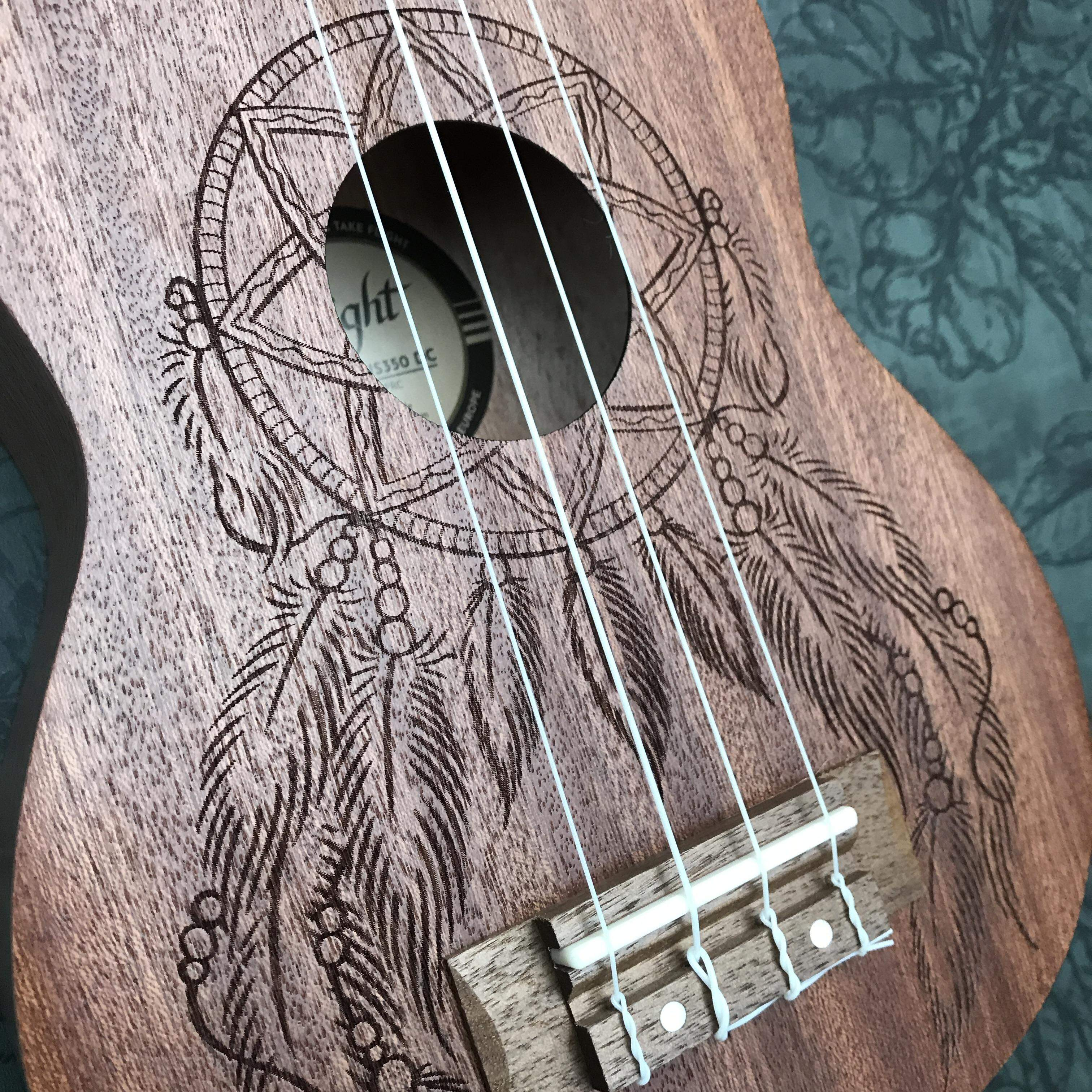 Flight dromenvanger ukulele