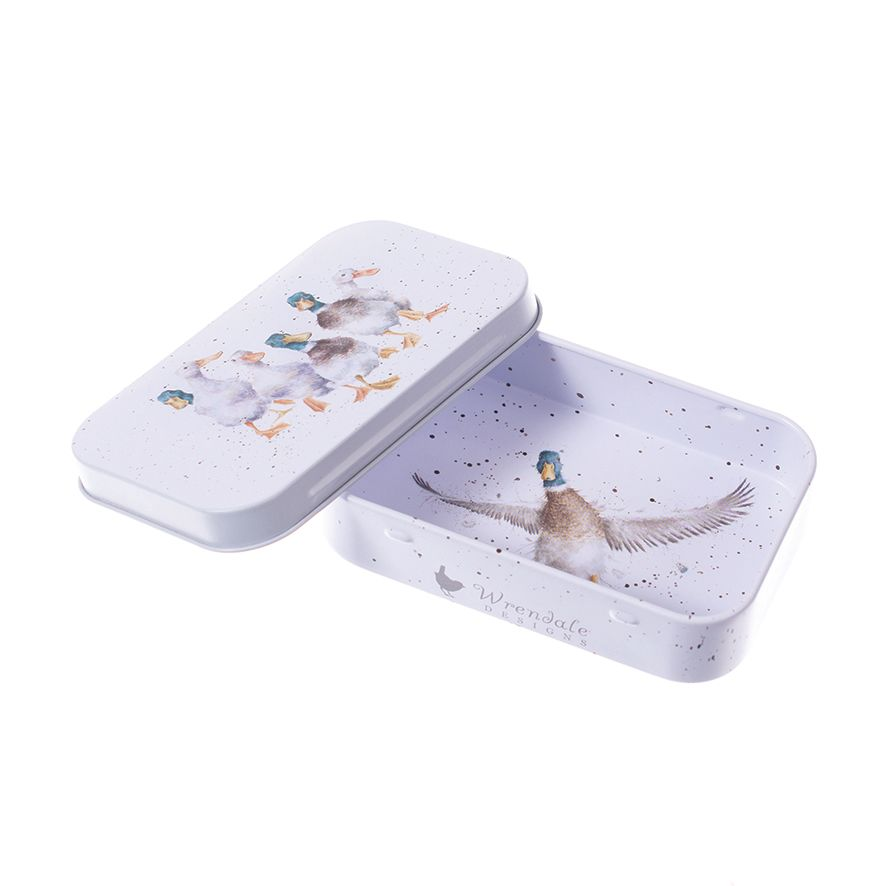'Quackers' mini gift tin by Wrendale Designs