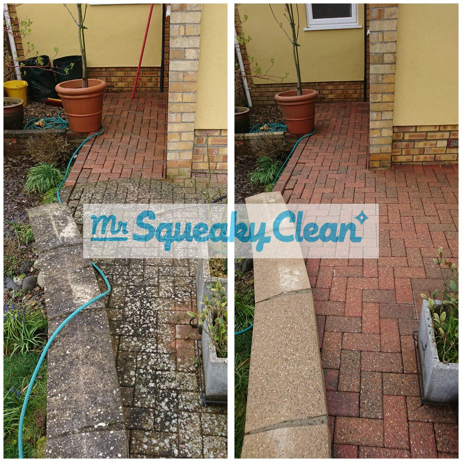Block Paving - Pressure Washing