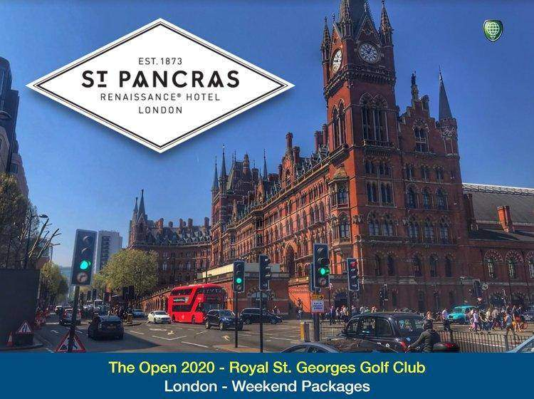 London based. Attend the 2020 Open - Saturday & Sunday (3 night package)