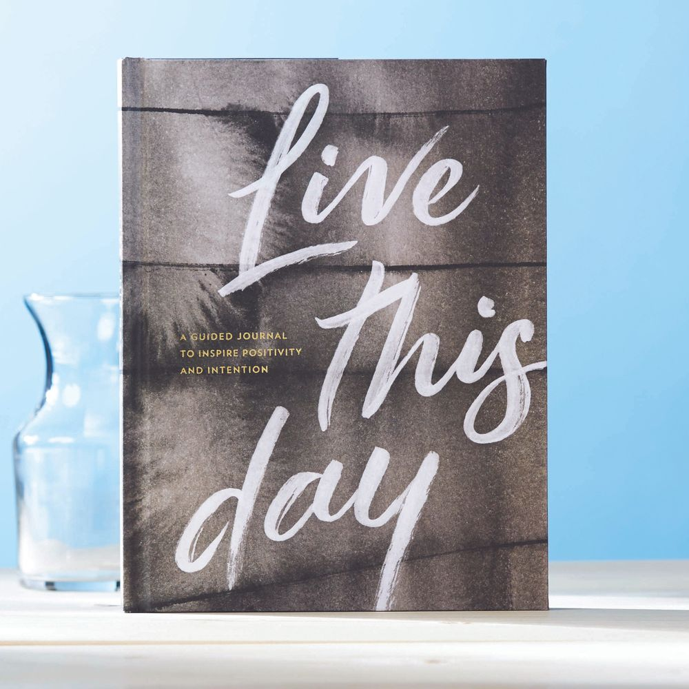 Compendium Hardcover Gift Book - Live this Day
