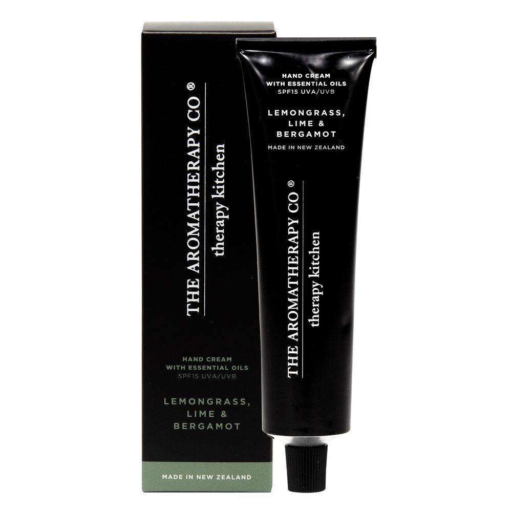 80ml Hand Cream SPF15 - Lemongrass, Lime & Bergamot