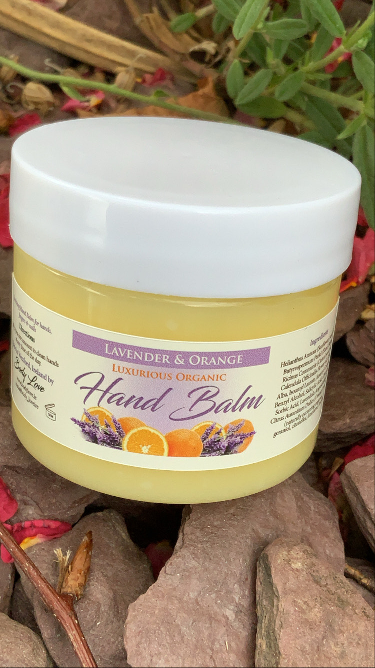 Lavender & Orange Hand Balm