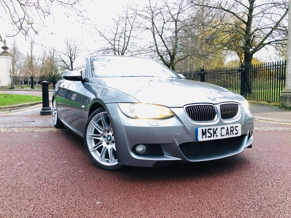 BMW 3 Series Grey 3.0 335i M Sport