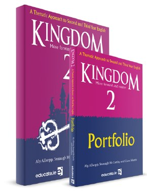 ENGLISH Kingdom 2 with Portfolio (Educate.ie)