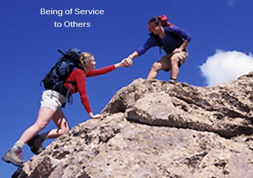 Being of Service graphic