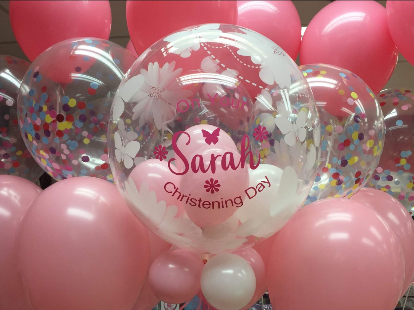 Christening Balloons Personalised