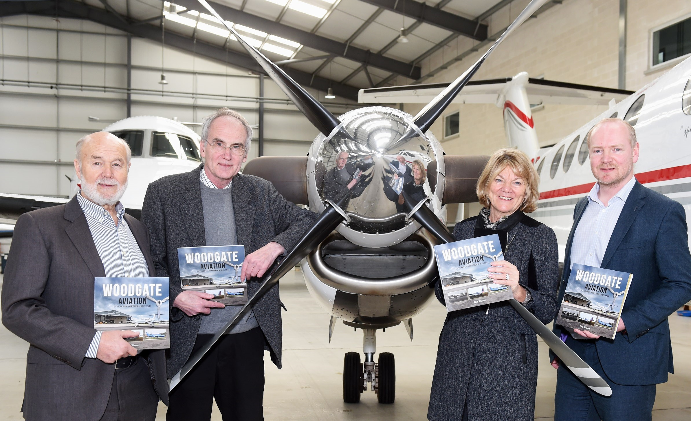 New book marks  50th anniversary of Woodgate Aviation