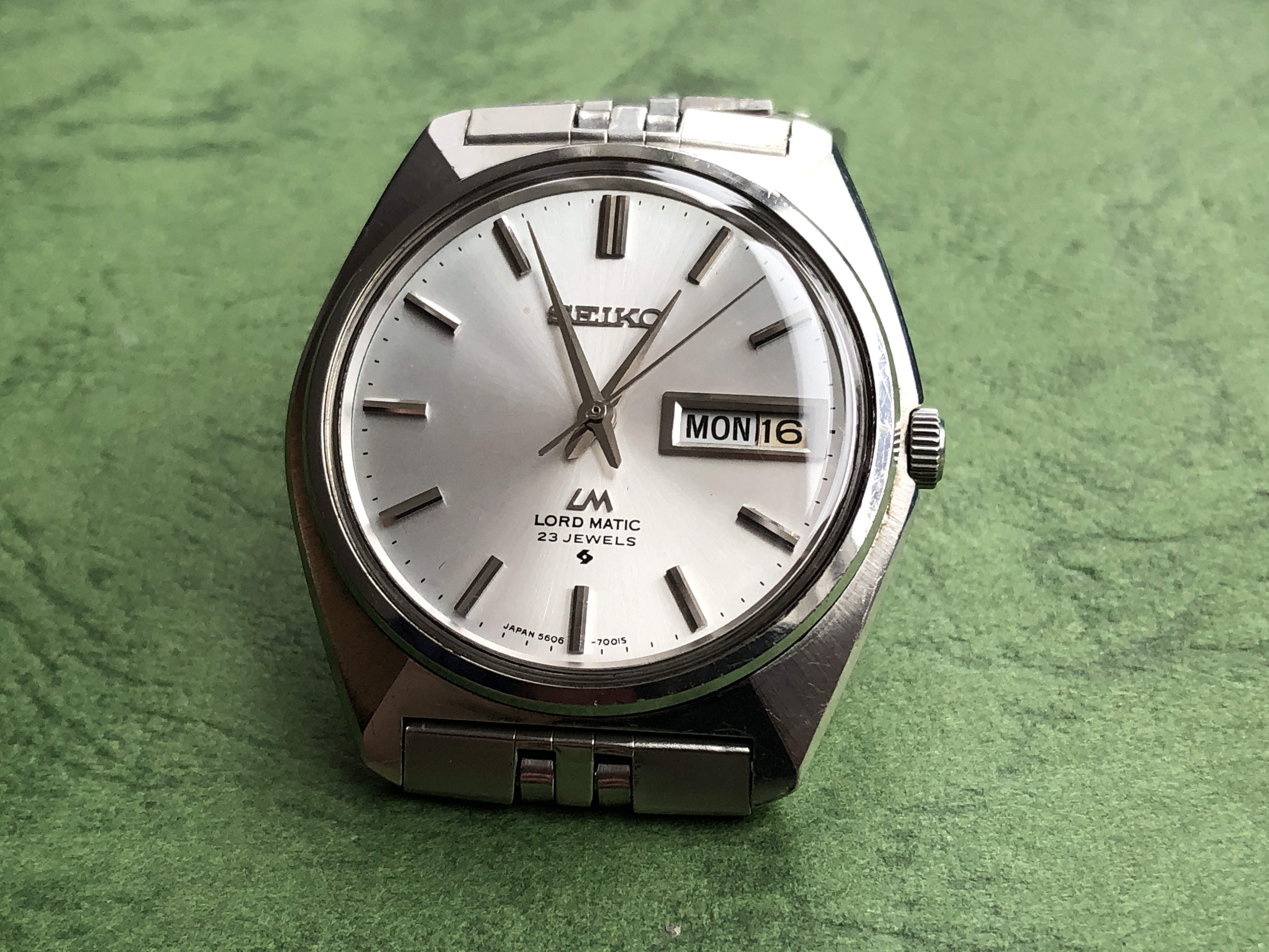 Seiko Lord-Matic 5606-7000 (For sale)