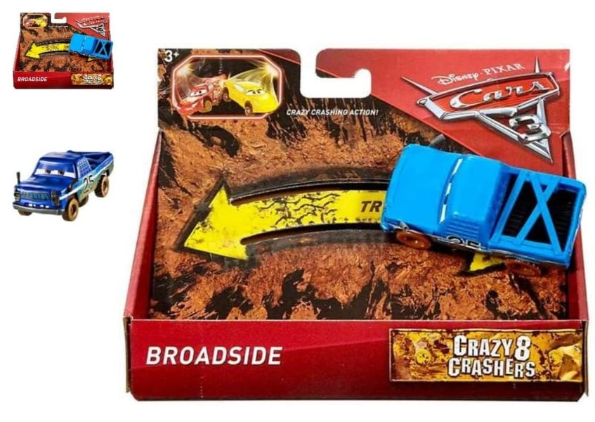 Disney Pixar Cars 3 Crazy 8 Crasher Broadside