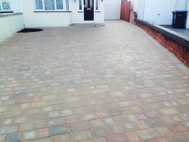 New driveway in Stains Middlesex