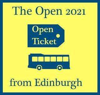 Day Trips to The Open 2021 from Edinburgh - Opening Round 4 Sunday