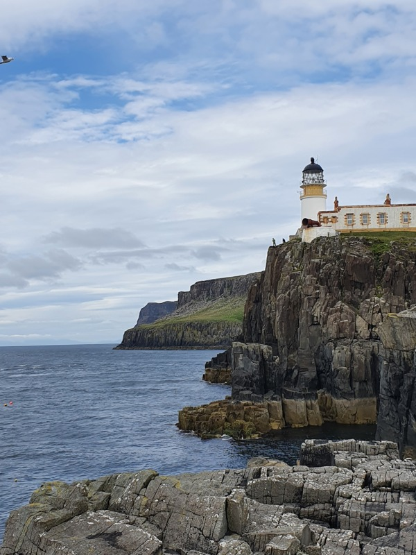Neist-point-lighthouse-picturesque-tourist-attraction-with-spectacular-views