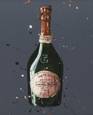 Paul Oz Laurent Perrier Rose Limited Editon