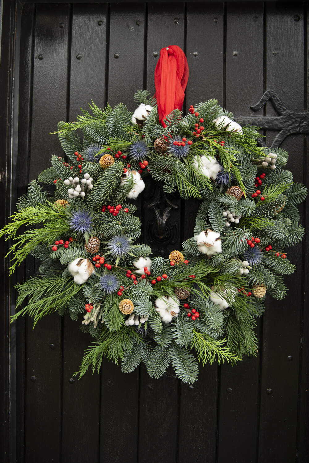 NEW- The Snowball Wreath
